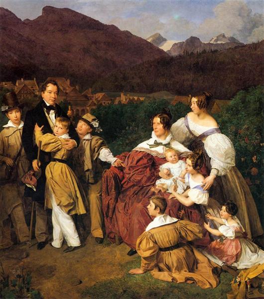 The Eltz Family, 1835 - Ferdinand Georg Waldmüller