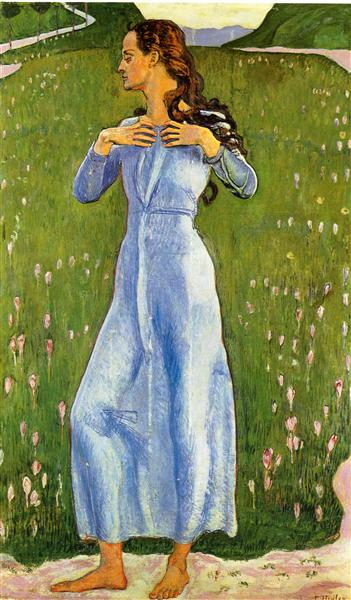 Emotion, 1900 - Ferdinand Hodler