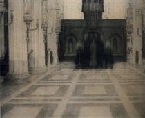 In Bruges. A Church - Фернан Кнопф