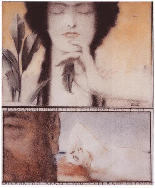Paganism, 1910 - Фернан Кнопф