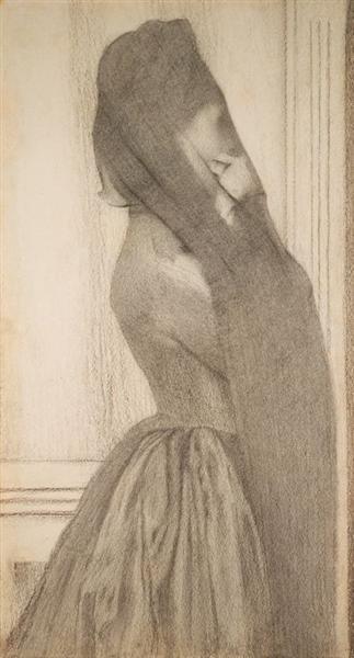 The Veil, 1887 - Фернан Кнопф
