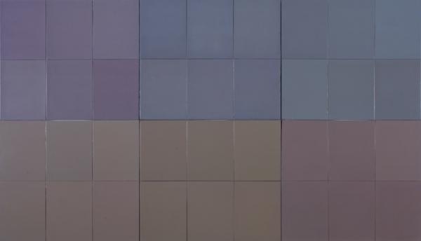 Microchromie, gris puissance [6], 1977 - Fernand Leduc