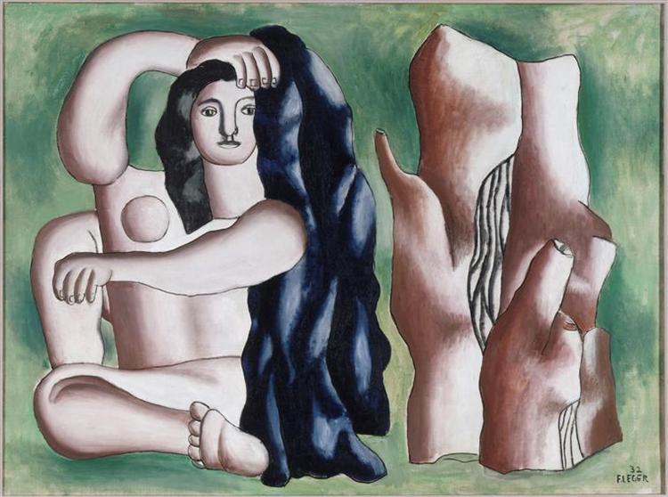 The Bather, 1932 - Fernand Leger