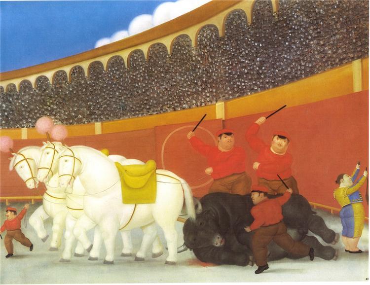 Drag, 1984 - Fernando Botero
