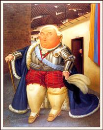 Luigi XVI in visita a Medellin - Fernando Botero
