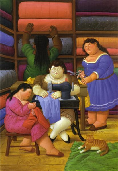The Designers, 2000 - Fernando Botero