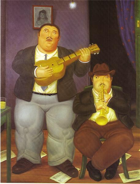 The Musicians, 1986 - Fernando Botero