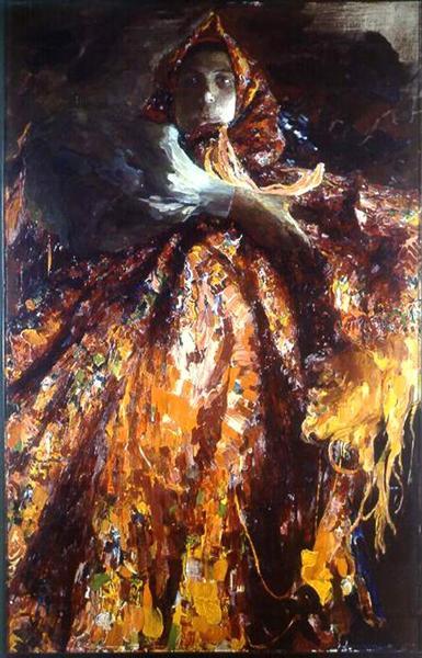 Baba the Peasant Woman, 1903 - Filipp Malyavin