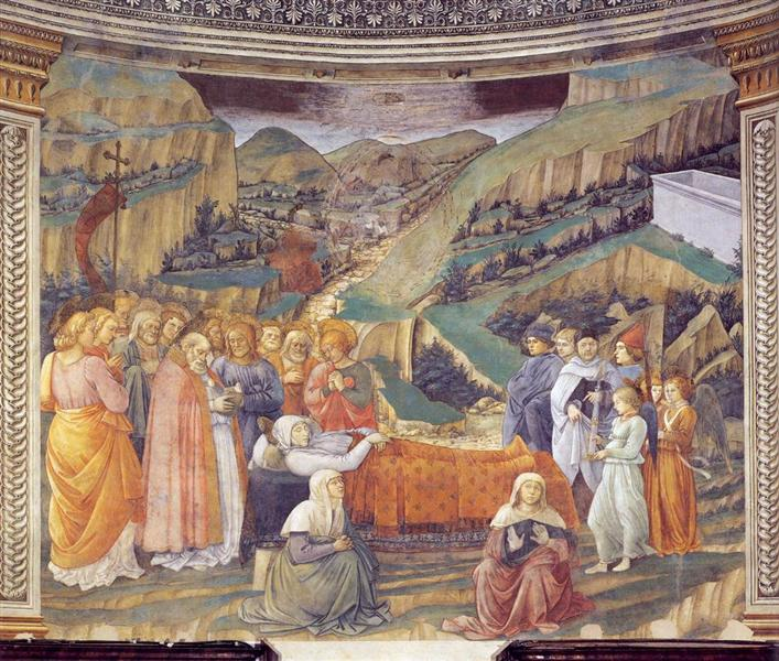Death of the Virgin, 1467 - 1469 - Filippo Lippi