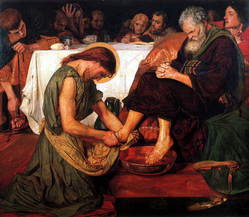 Jesus Washing Peter's Feet, 1876