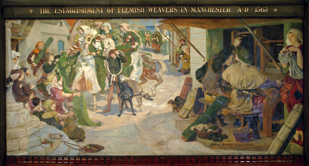 The Establishment of the Flemish Weavers in Manchester in 1363, 1888