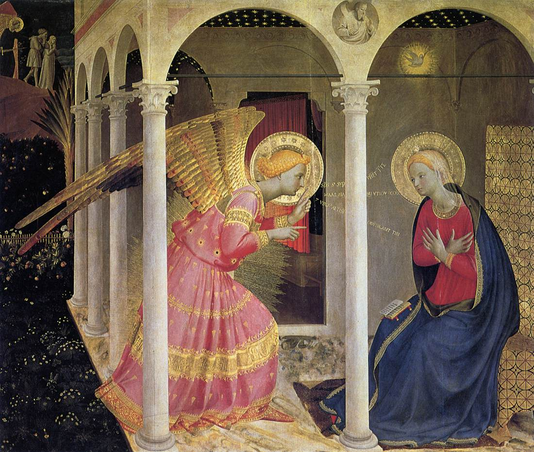 the annunciation and the catechism of the catholic church