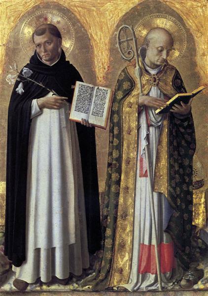 Perugia Altarpiece (left panel), 1447 - 1448 - Fra Angelico