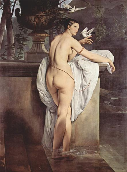 Ballerina Carlotta Chabert as Venus, 1830 - Francesco Hayez