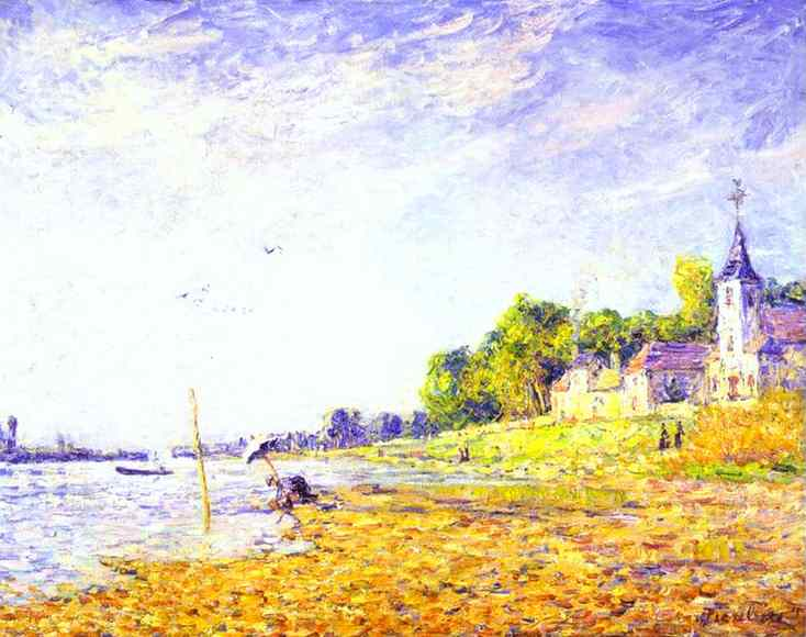 Bank at Poissy, c.1906 - c.1907 - Francis Picabia