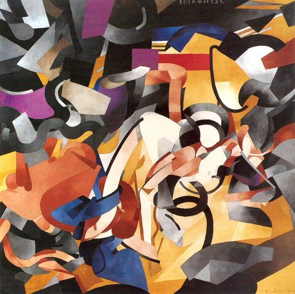 Edtaonisl (Ecclesiastic), 1913 - Francis Picabia