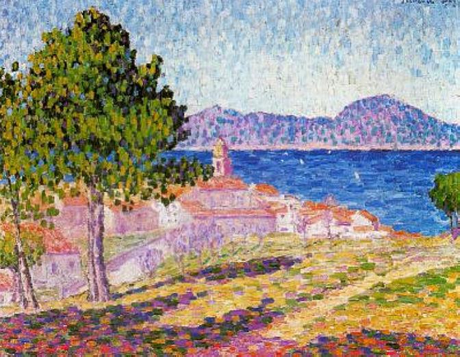 Saint-Tropez, 1909 - Francis Picabia