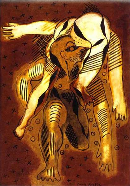 The Acrobates, 1925 - Francis Picabia