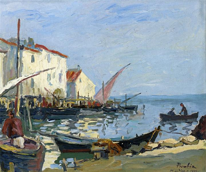 The Martigues, 1902 - Francis Picabia