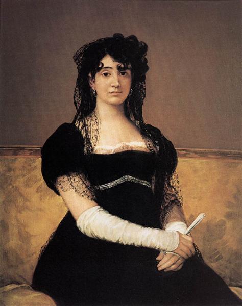 Antonia Zárate, c.1805 - Francisco Goya