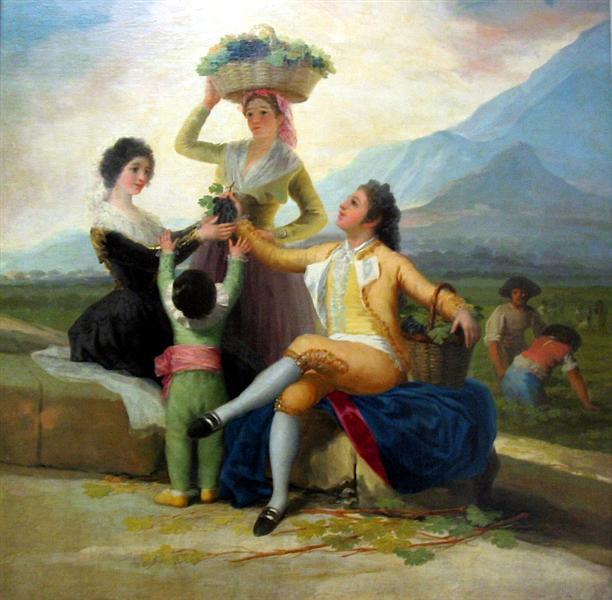 Autumn, or The Grape Harvest, 1786 - 1787 - Francisco Goya
