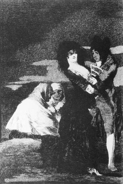 Birds of a Feather, 1799 - Francisco Goya