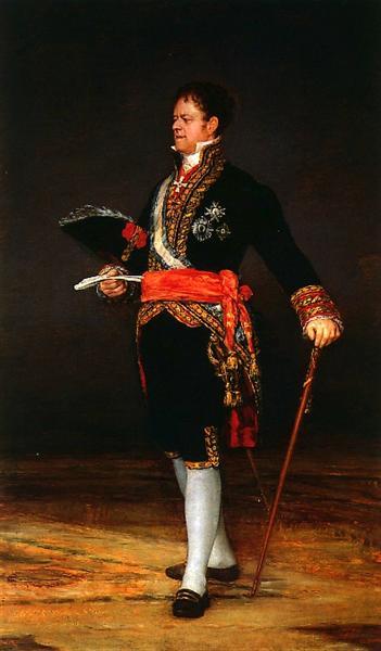 Duke of San Carlos, 1815 - Francisco Goya