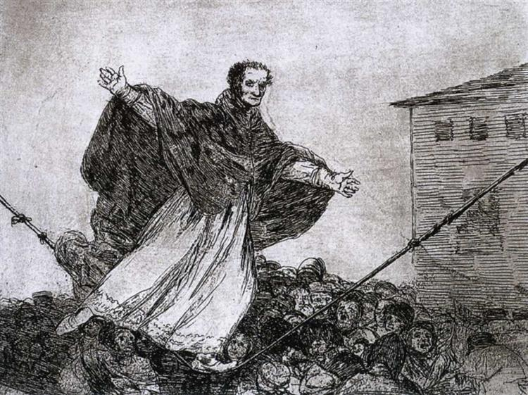 May the rope break, 1815 - 1820 - Francisco Goya