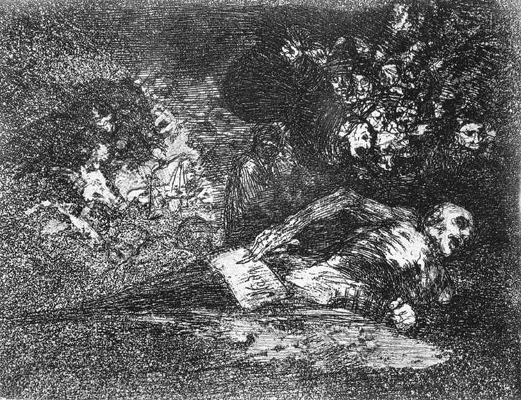 Nothing. The event will tell, 1815 - 1820 - Francisco Goya