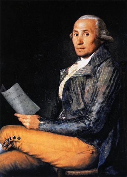 Sebastian Martinez, 1792 - Francisco de Goya