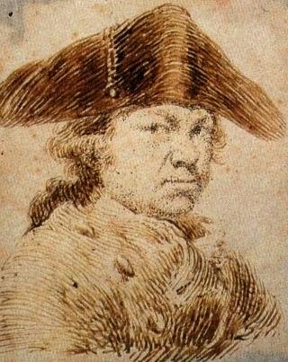 Self-portrait, c.1790 - c.1795 - Francisco Goya