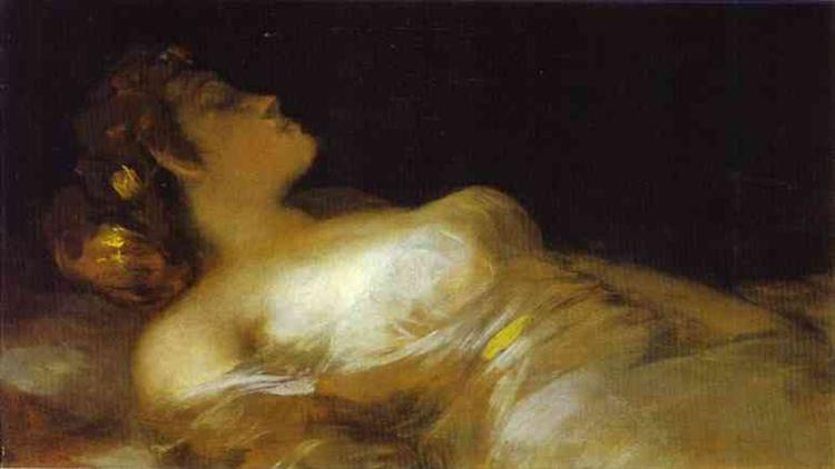 Sleep, c.1800 - Francisco Goya