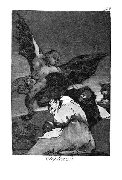 Squealers?, 1799 - Francisco Goya