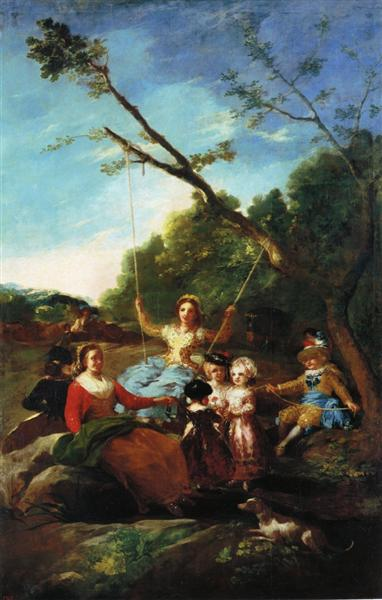 The Swing, 1779 - Francisco de Goya