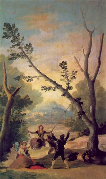 The Swing, 1787 - Francisco Goya