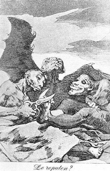 They Pare, 1799 - Francisco de Goya