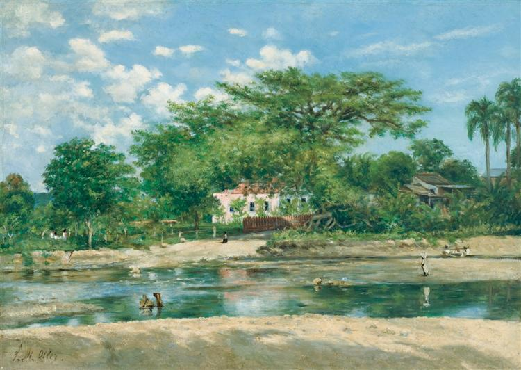 La ceiba de Ponce, 1888 - Francisco Oller