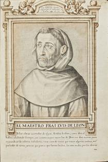 Maestro Frai Luis de Leon - Francisco Pacheco