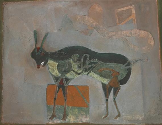 El burro contento, 1970 - Francisco Toledo
