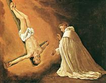 Aparição de São Pedro à São Pedro Nolasco - Francisco de Zurbarán