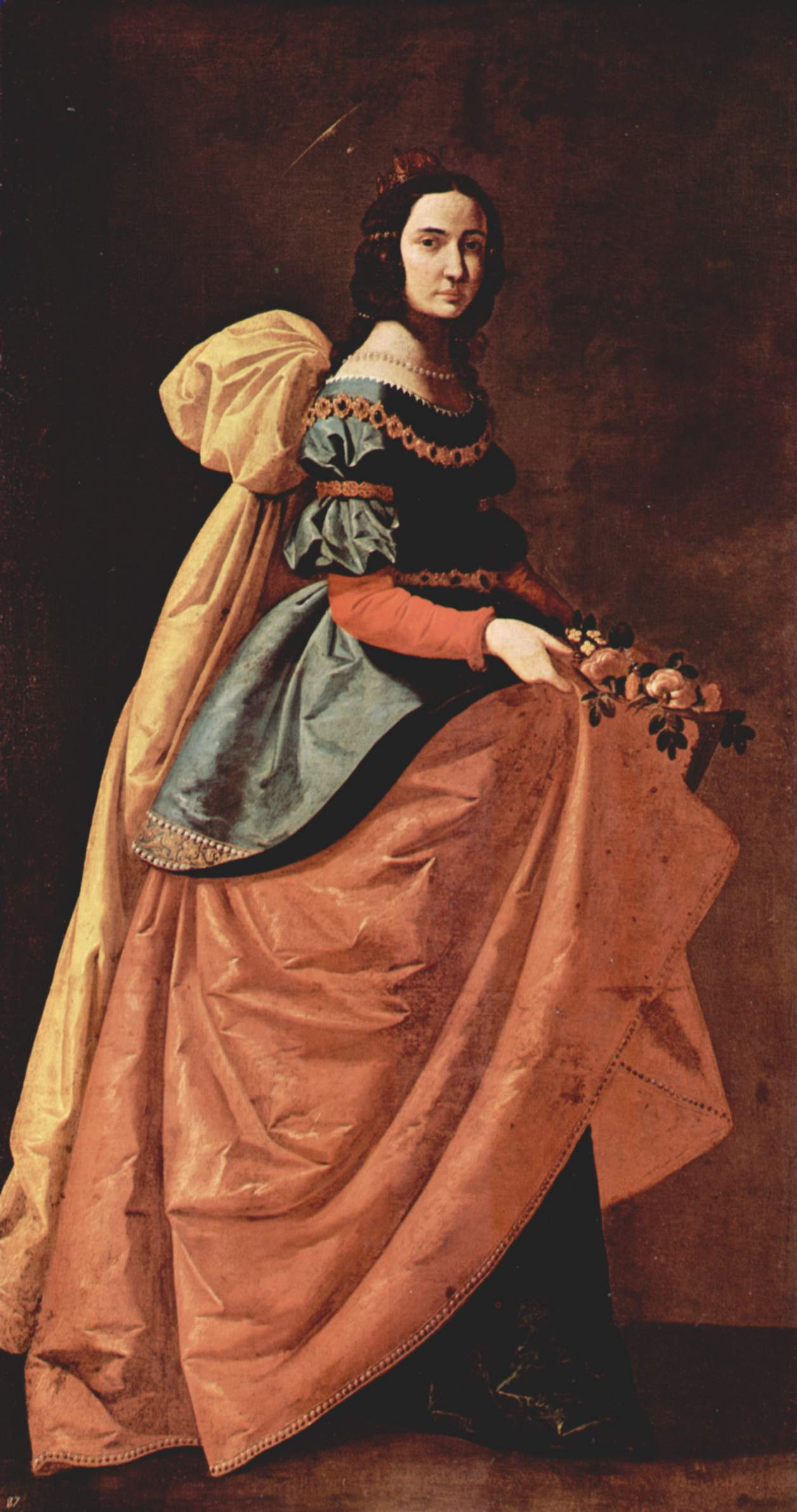 St  Casilda Of Toledo  C 1640