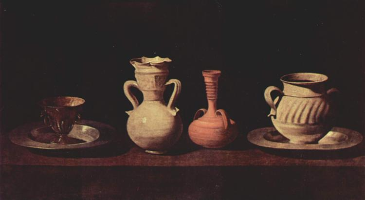 Still Life - Francisco de Zurbaran