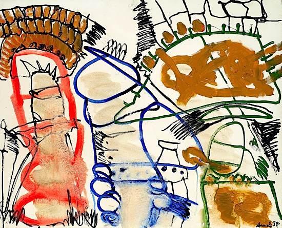 Vivre avec mes amis, 1988 - Francois Arnal