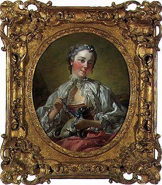 Portrait of Madame Boucher, c.1744 - 1745 - Francois Boucher