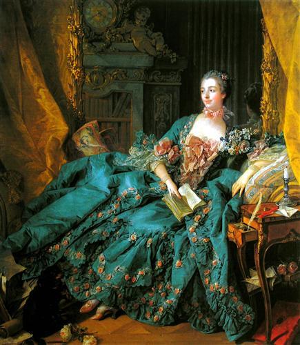 Madame de Pompadour - Francois Boucher