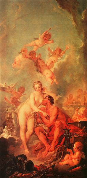 Venus and Vulcan, 1754 - Francois Boucher