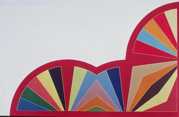 Aghtana III, 1968 - Frank Stella
