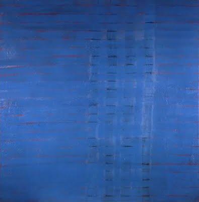 Blue Horizon - Frank Stella
