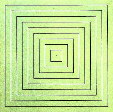 Island No. 1p, 1967 - Frank Stella