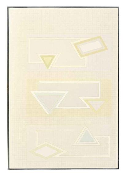 Pastel Stack, 1970 - Frank Stella